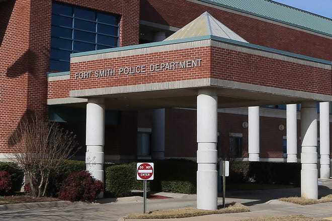 Fort Smith Police Department, as seen, Tuesday, Dec. 22.
