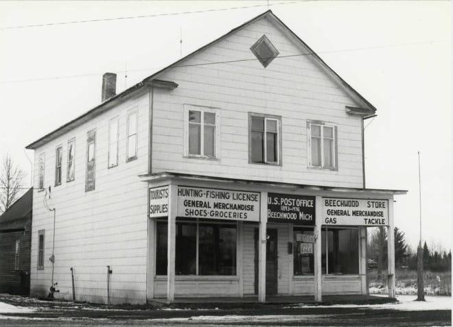 The historic Beechwood Store, which also served as a post office and social center, in 1979.
