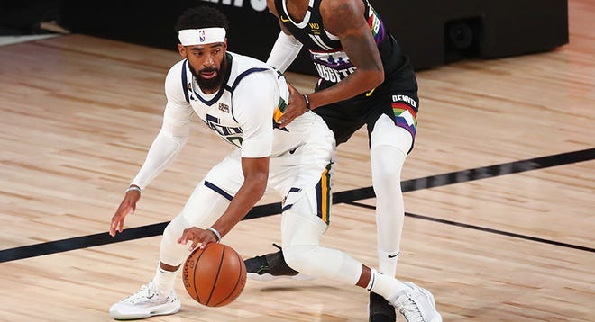 Mike Conley (Lawrence North) is in his second season with the Utah Jazz after spending 12 with the Memphis Grizzlies. He averaged 14.4 points last year.