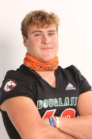 Frederick Douglass offensive lineman Jager Burton was selected to The Courier Journal's All-State football first team.