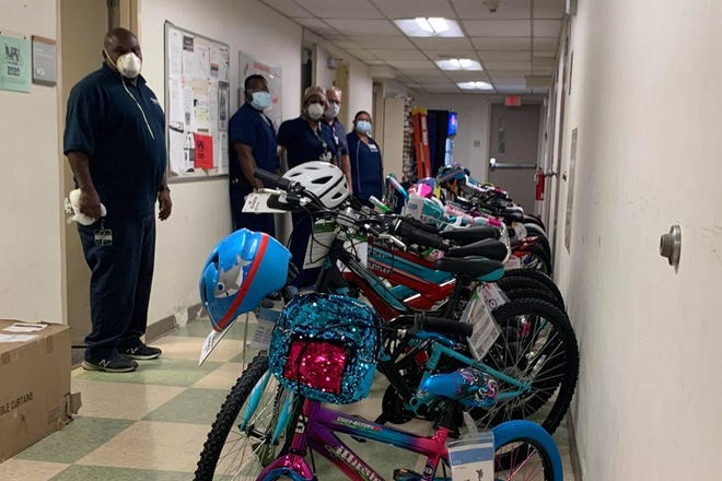 The yearly effort allows hospital employees to help those in need during the holiday season.