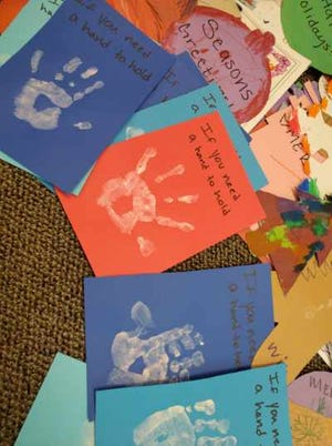Kids from Alpha School donated handmade cards for seniors living in Doña Ana County aging and long-term care facilities.