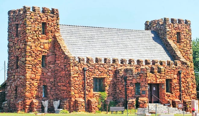 The museum and gift shop at the Holy City of the Wichitas, located on the Wichita Wildlife Refuge, near Lawton.