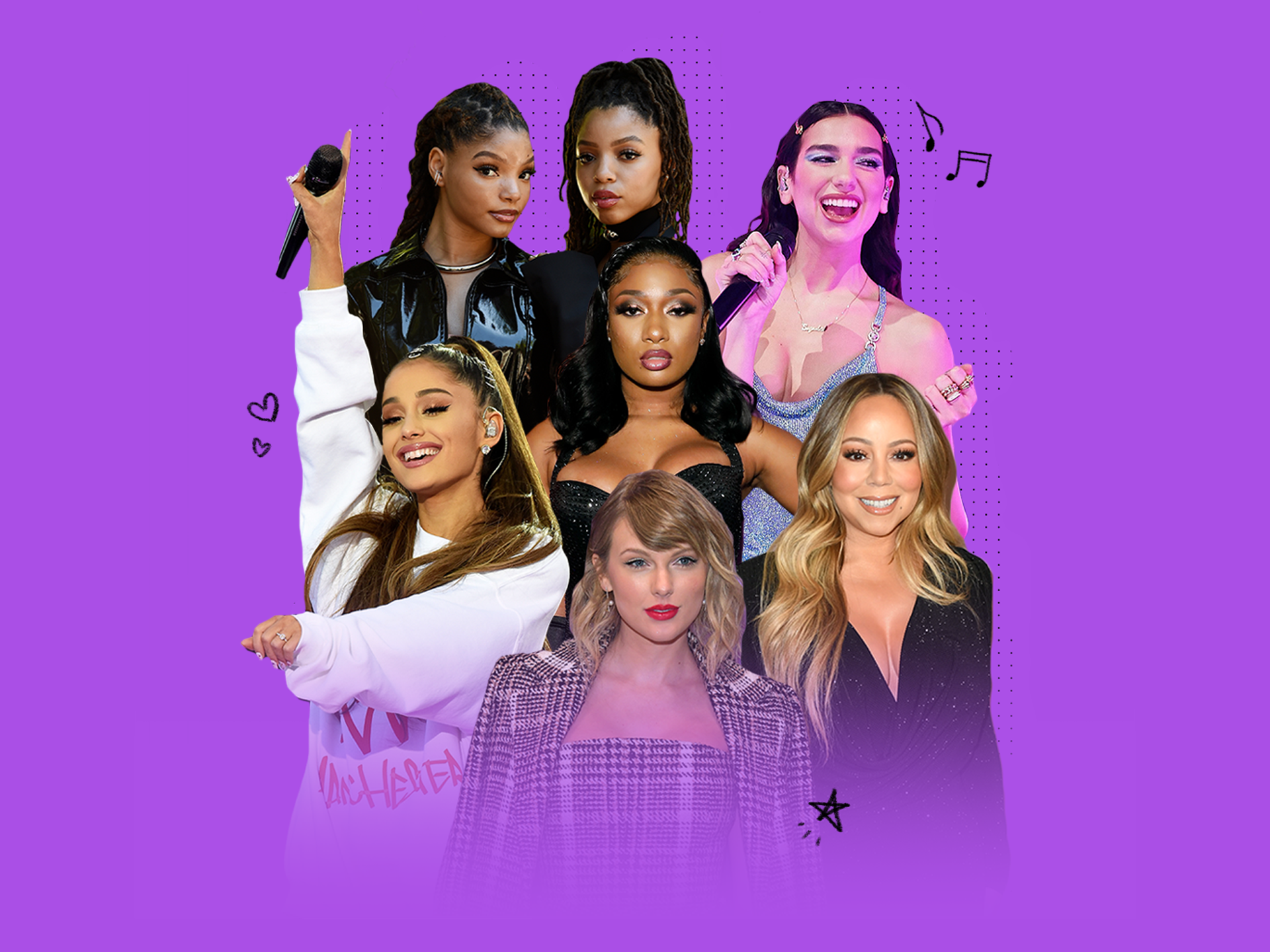 Ariana Grande, Dua Lipa, Megan Thee Stallion brought happiness to 2020