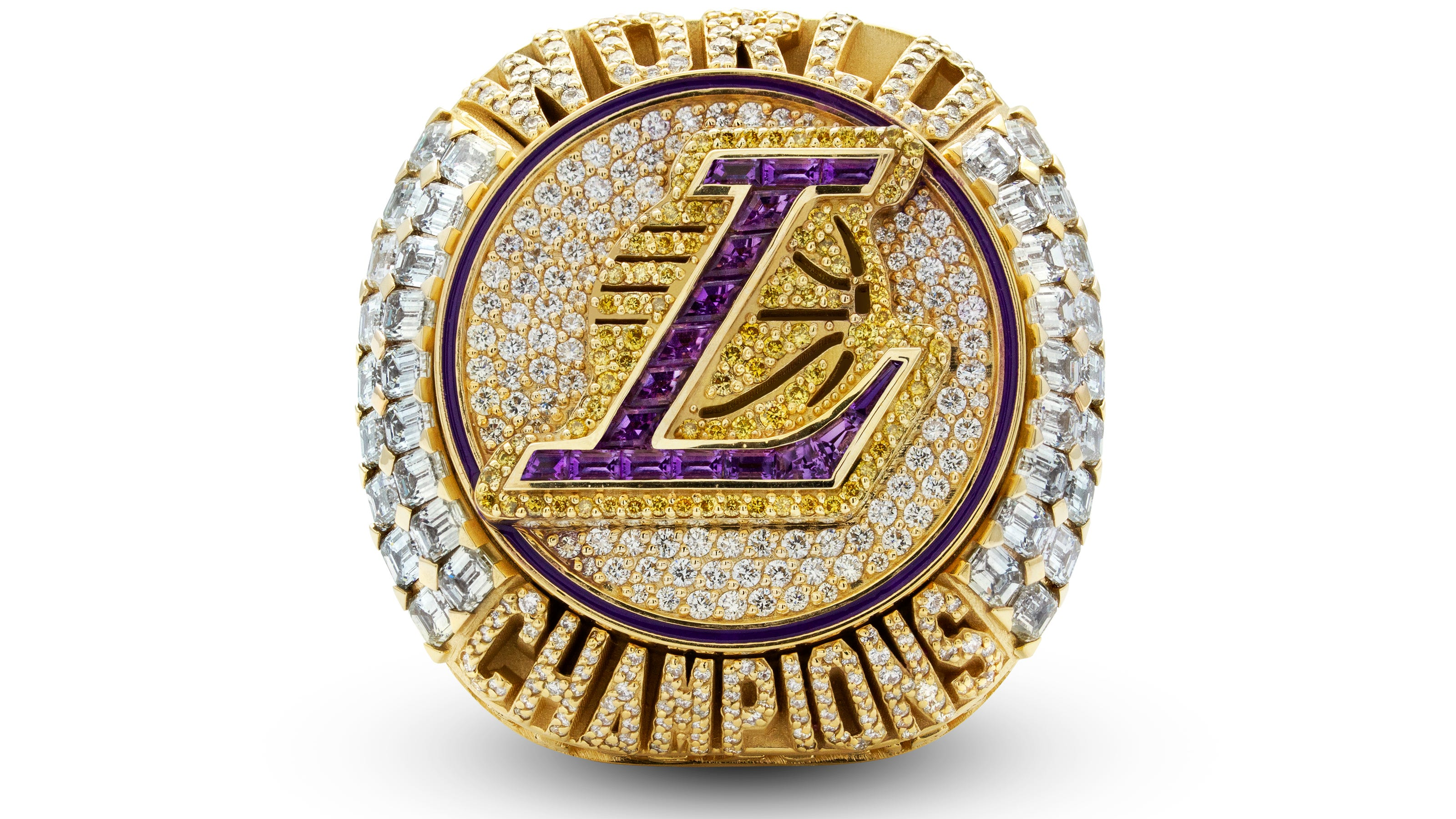 Los Angeles Lakers Rings For 2019 20 Championship Unveiled At Ceremony