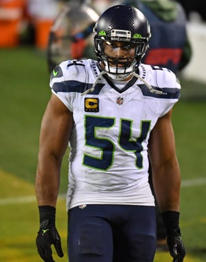 The Seattle Seahawks' Bobby Wagner is the highest paid linebacker in the NFL.