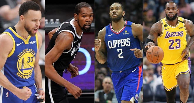 Nets vs. Warriors and Lakers vs. Clippers Open 2020-21 NBA Season on TNT