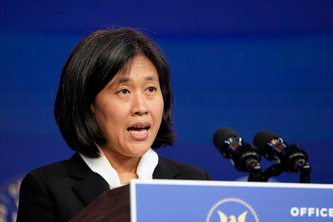 Katherine Tai is the Biden administration's choice totake overas the U.S. trade representative.