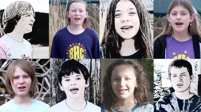 """The Barton Hills Choir, featuring students and alumni from Barton Hills Elementary School, recently recorded a version of Austin band Fastball's 1998 hit """"The Way."""" The video for the song is viewable on YouTube."""