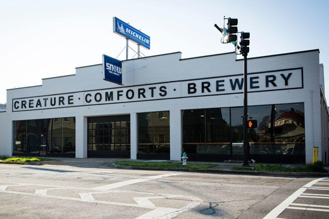Creature Comforts Brewing Co. will be distributing six draft beers to Charleston and Hilton Head, S.C., plus 11 seasonal beers.