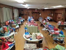 Alliance YWCA staff and community members collected donations of clothes, toys and other items for 30 families in the Alliance area.