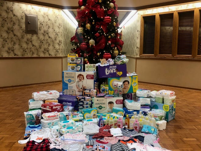 Greater Alliance Foundation coordinates collection of diapers and other necessities for newborns that were delivered Tuesday to Alliance Pregnancy Center.