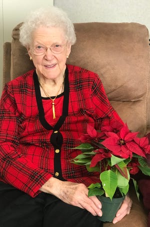 Ruth Weaver, a resident of Copeland Oaks, will celebrate her 100th birthday on Dec. 27.