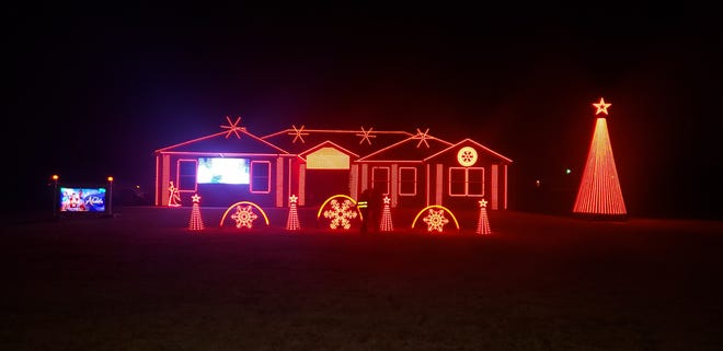 The light display is free and open to the public and runs every night from 6 p.m. to 10 p.m. through January 8.