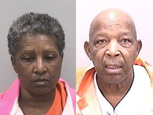 First Love Personal Care Home owners Celeste Lisenbee, left, and Sammie Lisenbee face murder charges in the deaths of two elderly nursing home residents.
