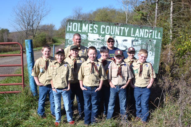 Webelos Pack #357 will make wildlife brush piles from recycling Christmas trees at the Old Holmes County Landfill, which is now owned by the Holmes County Park District.