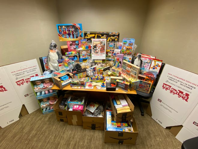 The Young Lawyers Section of the Delaware State Bar Association's annual Toys for Tots campaign collected and delivered more than 200 toys to Delaware children through the U.S. Marine Corps-run program.