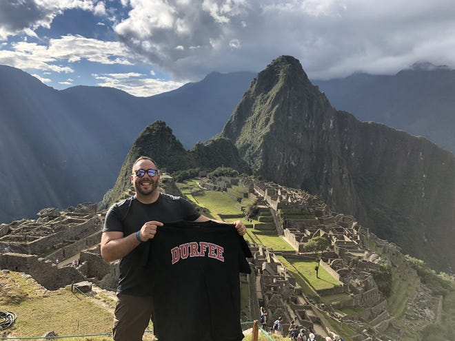 Mike Costa is seen on a trip to Machu Picchu in the summer of 2019.