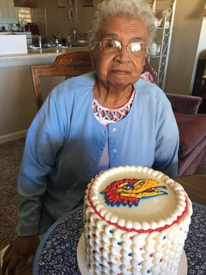 Mary Mendoza didn't attend the University of Kansas, but she loved the Jayhawks after receiving an organ transplant at the University of Kansas Hospital. When she died of COVID-19, she was the longest-living liver transplant from the center at 29 years.