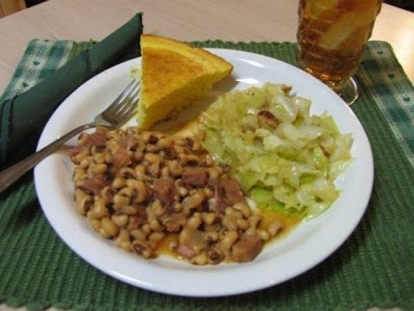 This traditional New Year's meal is eaten by many across the South.