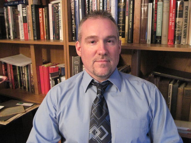 "Dr. Robert Brown of Victor, professor of history at Finger Lakes Community College, researched the 1918/19 pandemic in England in 2009 and was featured in the PBS documentary ""Secrets of the Dead: Killer Flu."""