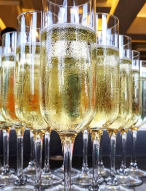 Champagne will flow at New Year's Eve celebrations at the island's restaurants.