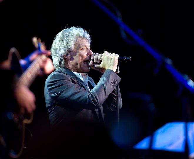 Jon Bon Jovi performs in 2019 at The Breakers in Palm Beach. In 2020, the rocker's ownership company bought an oceanfront estate for $43 million from sellers Jeffrey and Nicola Marcus.