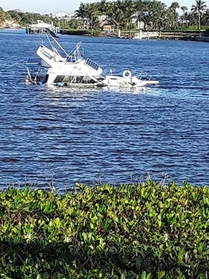 Jupiter residents complain about the floating eyesores that include some boats that are improperly moored, some sunk, some damaged, some just junk.