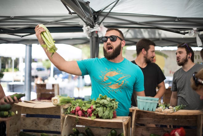 A modified version of Palm Beach Gardens' popular Green Market will continue on Sundays through Jan. 10 at the city's municipal complex.