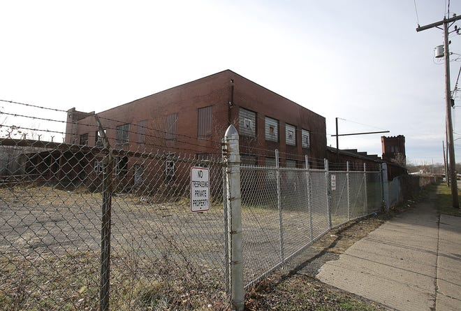 Canton officials are trying to figure out what to do with a city-owned building at 2206 13th St. NE that was damaged by fire earlier this month.