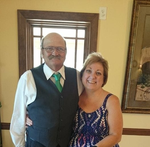 Tim and Lori Hamrick had 41 years together before Tim's death on Dec. 13.