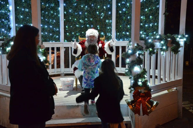 Shawnee is very special to Santa Claus; he has participated in several of Shawnee's Christmas parades and has made some visits during particular events in town whenever he could work it into his schedule.