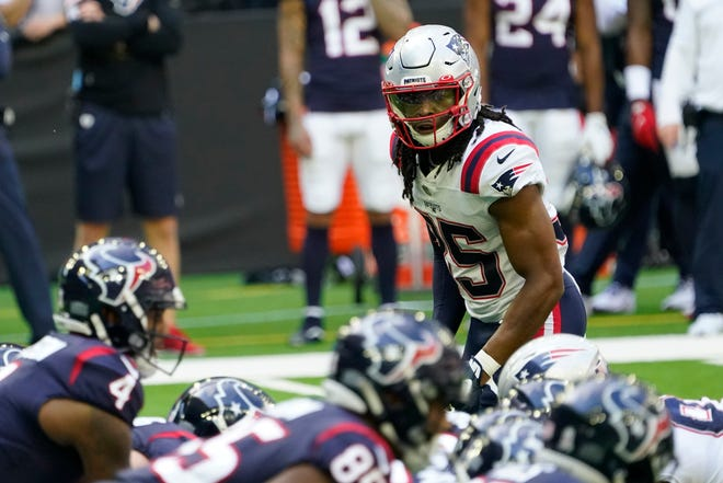 Rookie Kyle Dugger has emerged as a bright spot for the Patriots on defense this season.