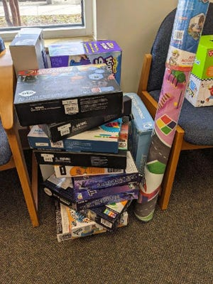 Children's Rehabilitation Service, a program of the Alabama Department of Rehabilitation Services, and a number of local businesses recently were able to ensure that some local families in need still will be able to have a very Merry Christmas.