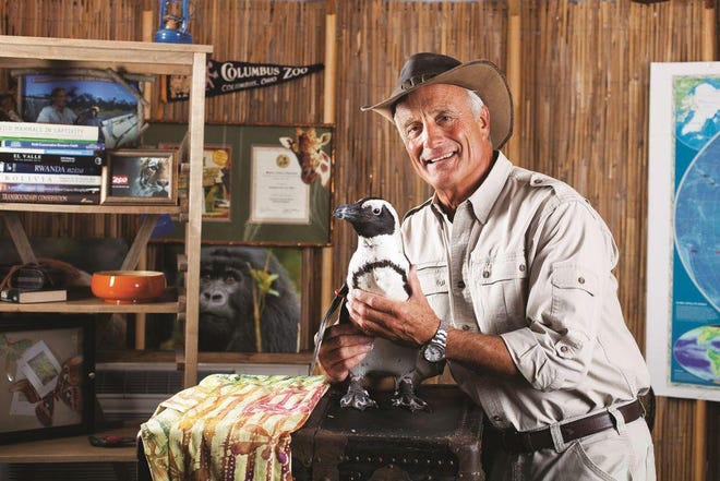 """Jack Hanna, photographed in Jack's Base Camp Yurt at the Columbus Zoo and Aquarium, retired as director emeritus from the zoo at the end of 2020. The yurt was used as a filming location for """"Jack Hanna's Into the Wild"""" and """"Jack Hanna's Wild Countdown."""" The zoo announced Dec. 9 that it had been relocated to The Wilds."""