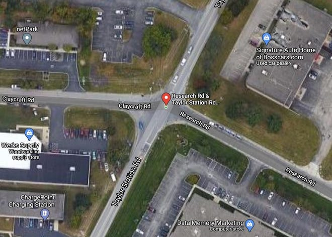 The Taylor Station Road intersection at Claycraft and Research roads will become a roundabout.