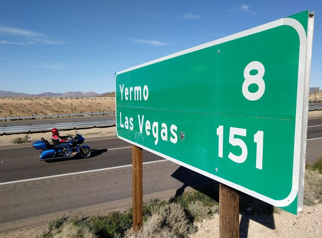 A 58-year-old Barstow man was killed after he was struck by a vehicle on Yermo Road on Monday night, Dec. 21, 2020.