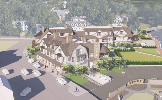 Cohasset Hospitality Partners' plans for the Cohasset Harbor Inn site redevelopment have gained local approval.