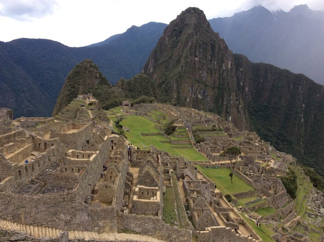 A look at the Inca Empire that once was - Machu Picchu. Kira Seamon captured this image.