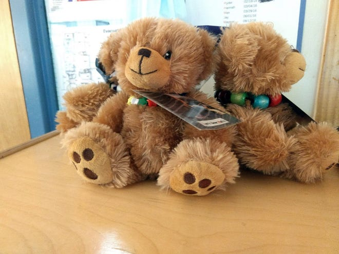 Trusted teddy bears are transitional objects within Verner classrooms, helping children to deal with everyday transitions and emotional stress.