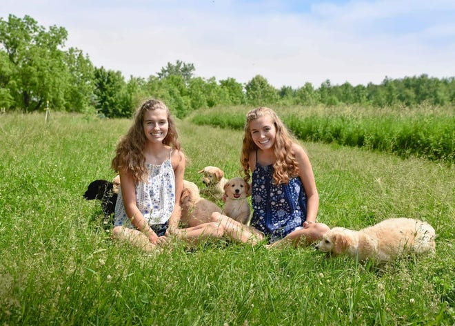 Layne Vanderpool, left, died in August from injuries she sustained in a June 30 crash on U.S. 30. Her twin sister Leah, left, was badly injured in the crash.