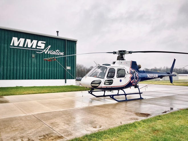MMS Aviation is currently refitting an Airbus AS350B2 helicopter for Mercy Air that was donated from Air Methods. It will be used for humanitarian efforts in southern Africa.