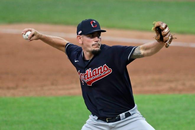Pitcher bantuan Cleveland Indian Nick Wittgren