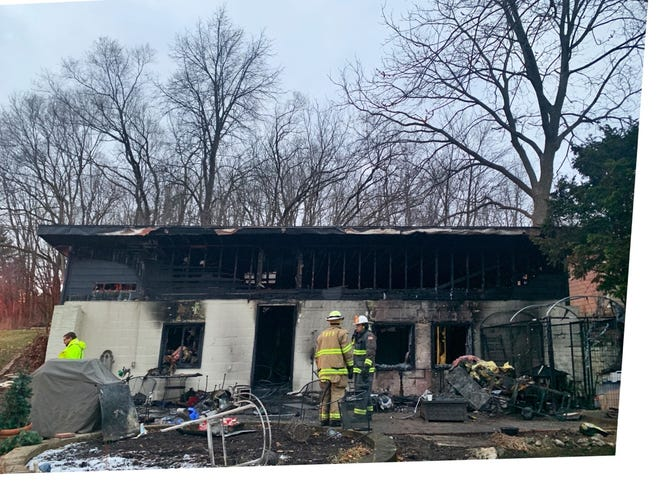 A Delafield home, owned by Greg and Sherrie Dorff, was destroyed in a fire on Dec. 17.