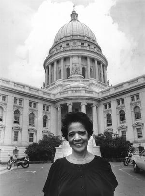 Vel Phillips, Wisconsin secretary of state, Sept. 27, 1979.