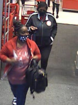 The Prattville Police Department is currently seeking the identity of two females wanted for felony theft.