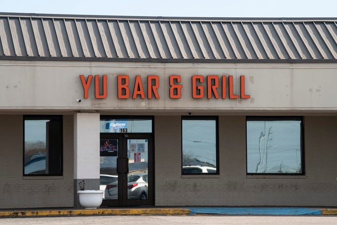 Yu Bar and Grill at the Atlanta Crossing shopping mall on Eastern Blvd. in Montgomery, Ala., on Wednesday, Dec. 23, 2020.