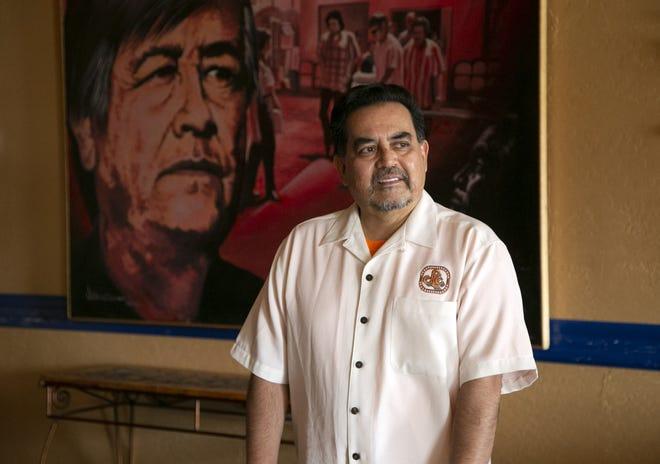David Adame, president and CEO of Chicanos Por La Causa, at the Chicanos Por La Causa office in Phoenix on Dec. 23, 2020.