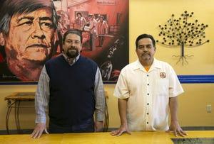 Jose Martinez (left) and David Adame