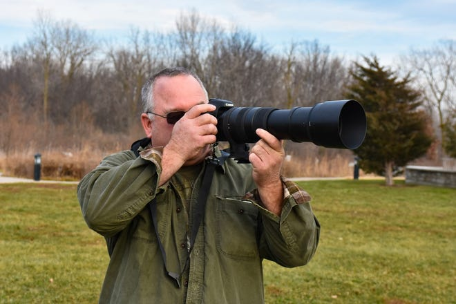 "Tony Everhardt spends time nearly every week photographing birds at Ottawa National Wildlife Refuge, which he calls ""the Grand Canyon"" of Ohio because of its beauty and public accessibility."